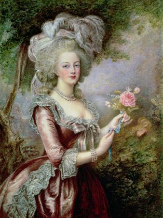 Marie Antoinette (1755-93) after Vigee-Lebrun