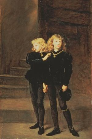 The Princes Edward and Richard in the Tower, 1878