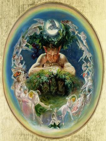 Faun and the Fairies, C.1834