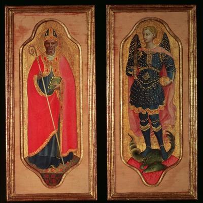 St. Nicholas of Bari and St. Michael, C.1423