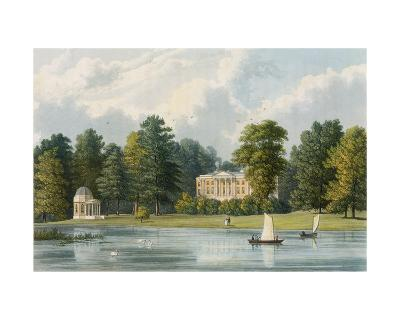 Hampton House, Engraved by Richard Gilson Reeve (1803-89), Published 1828