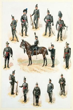Uniforms of the Rifle Brigade