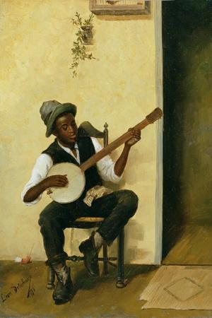 The Banjo Player, 1881