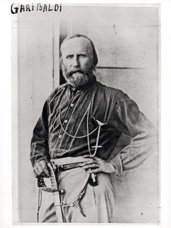 Portrait of Giuseppe Garibaldi (1807-82) 1860