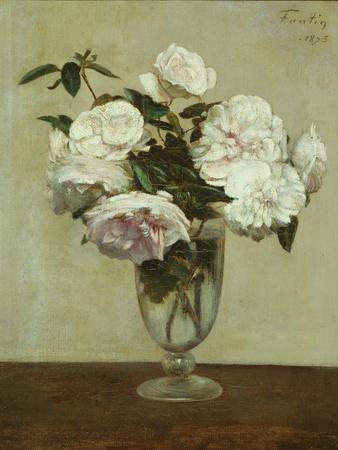 Pink Roses, 1875