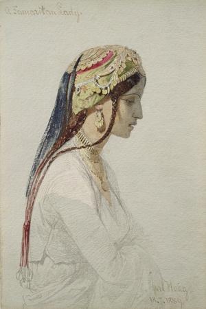 A Samaritan Lady, 1859