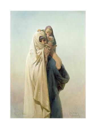 A Coptic Mother, 1859