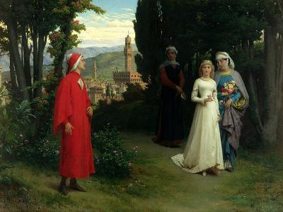 First Meeting of Dante and Beatrice, 1877