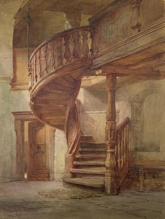 Spiral Staircase. Limburg an Der Lahn