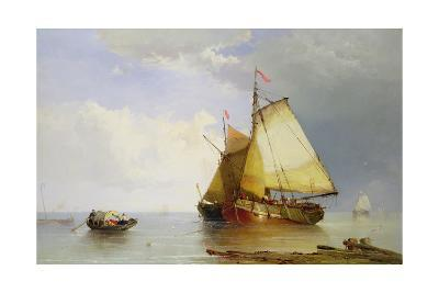Shipping in a Calm, 1869
