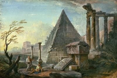 Pyramid of Caius Cestius at Rome