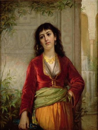 The Unwelcome Companion (A Street Scene in Cairo), C.1872-73