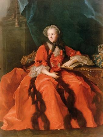 Portrait of Maria Leszczynska (1703-68) 1762