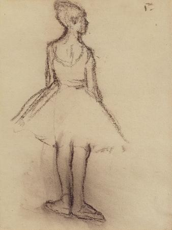 Ballerina Viewed from the Back