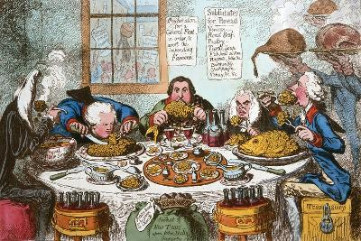 Substitutes for Bread, or Right Honourables Saving the Loaves and Dividing the Fishes, Published…