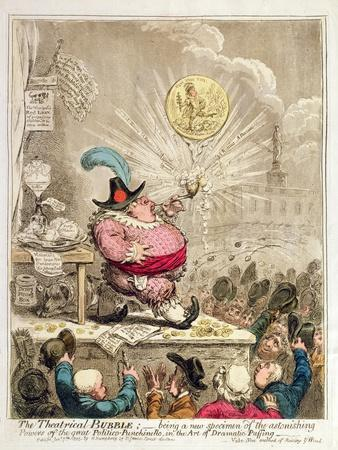 The Theatrical Bubble: Being a New Specimen of Astonishing Powers in the Great…
