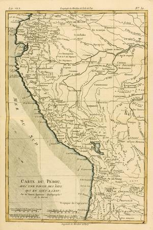 Peru, from 'Atlas De Toutes Les Parties Connues Du Globe Terrestre' by Guillaume Raynal (1713-96)…