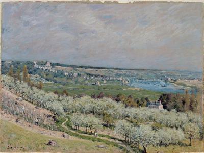 The Terrace at Saint-Germain, Spring, 1875