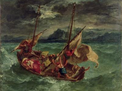 Christ on the Sea of Galilee, 1854