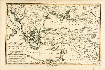 Turkey, from 'Atlas De Toutes Les Parties Connues Du Globe Terrestre' by Guillaume Raynal…