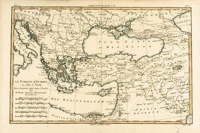 Turkey, from 'Atlas De Toutes Les Parties Connues Du Globe Terrestre' by Guillaume Raynal…