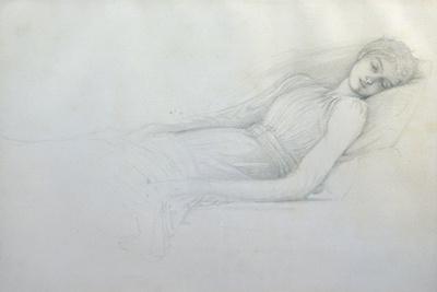 Study for 'sleeping Beauty'