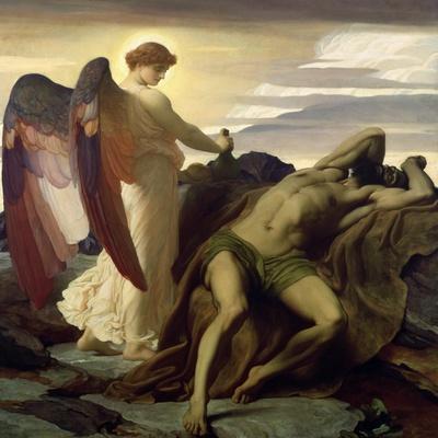 Elijah in the Wilderness, 1877-8