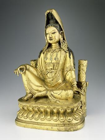 Figure of Avolokitesvara Guanyin, Qing Dynasty