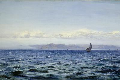 Light Breeze Off Dodman at Mevagissey, Cornwall, 1881