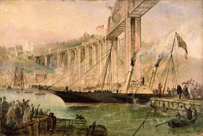 The Opening of the Saltash Bridge by Prince Albert, 2nd May 1859, C.1859