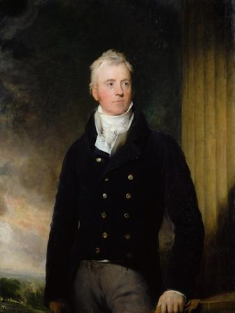 Portrait of William Robertson of Chilcote, 1816