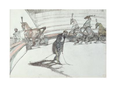 Au Cirque: Chevaux En Liberte, 1899