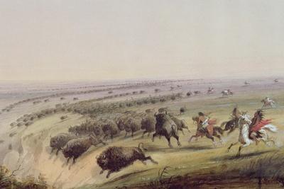 Hunting Buffalo, 1837