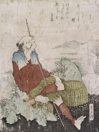 Old Fisherman Smoking His Pipe, C.1835