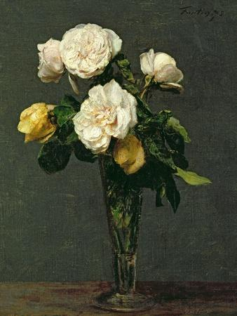Roses in a Champagne Flute, 1873