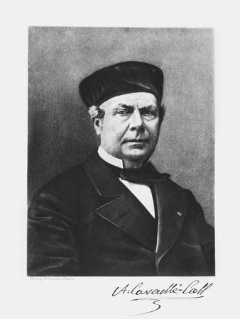 Portrait of Aristide Cavaille-Coll (1811-99)
