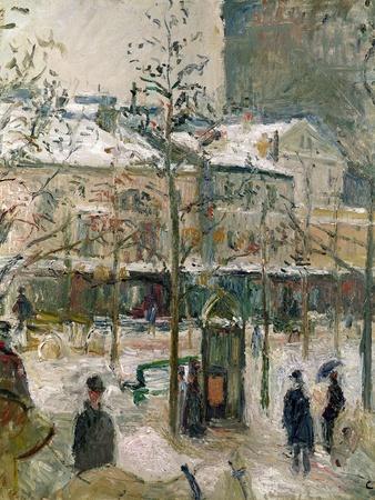 Boulevard De Rocheouart in Snow, 1878