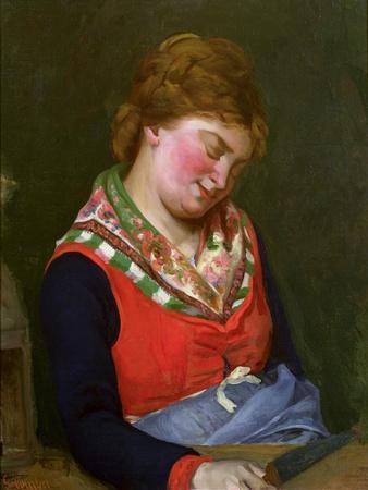 Peasant Woman Sleeping, 1853