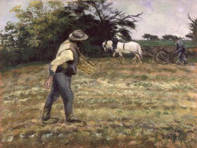 The Sower, Montfoucault, 1875