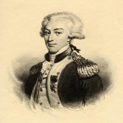 Marie Joseph Paul Yves Roch Gilbert Du Motier (1757-1834) Marquis De Lafayette