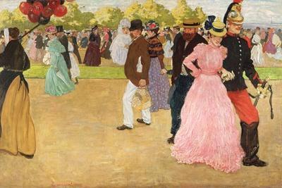 A Sunday Walk in the Bois De Boulogne, 1899