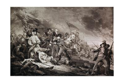 The Death of General Warren at the Battle of Bunker's Hill, 17th June 1775, Published by Anthony…
