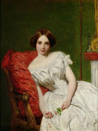 Portrait of Annie Gambart