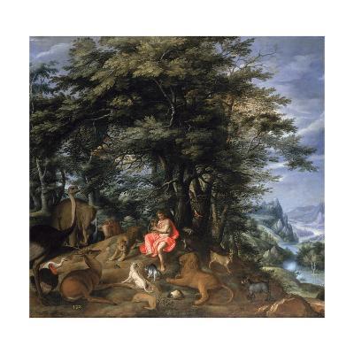 Orpheus Charming the Animals, 1610