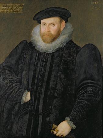 Sir Edward Grimston (1529-1610) as a Young Man
