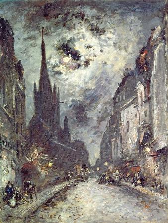 Rue Saint-Severin, 1877