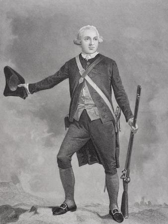 Portrait of General Joseph Warren (1741-75)