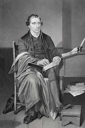 Portrait of Patrick Henry (1736-99)