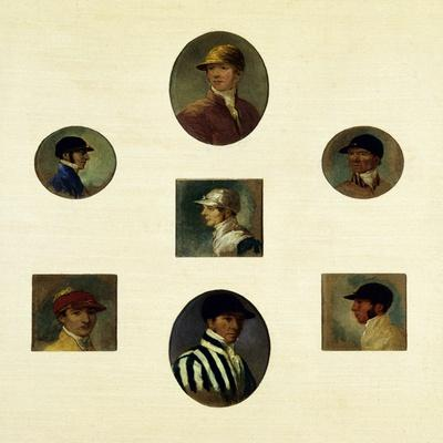 Studies of Jockeys, C.1830