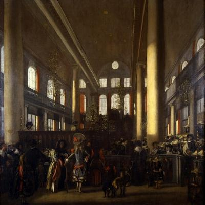 Portuguese Synagogue in Amsterdam, C.1680